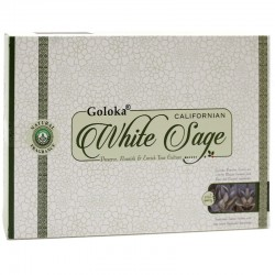 12 Goloka Masala - Salvia blanca 15gr