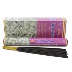6 packs Incienso hexagonal atrae dinero