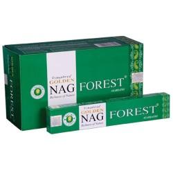 12 packs Incienso Golden Nag - Forest 15 gr