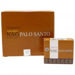 12 packs Incienso Golden Palo santo Conos 15 gr