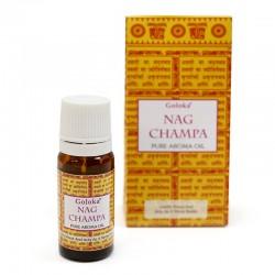 12 Aceites fragancia Goloka - Nag Champa