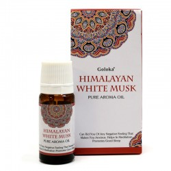 12 Aceites fragancia Goloka - almizcle blanco del Himalaya