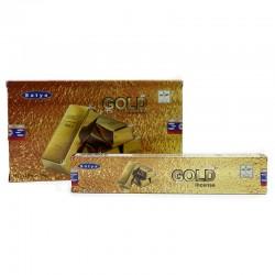 12 Incienso Satya 15gr - Gold