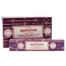 12 Incienso Satya 15gr - Meditación