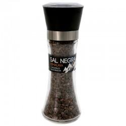 3 Molinillos sal negra del Himalaya 200 gr.