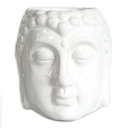 Quemador aceite Buda - blanco