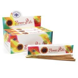 12 packs Incienso Green Tree - Flor de la Vida