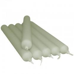 30 Velas candelabro - mármol gris