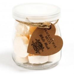 6 Botes 16 ceras de soja - aroma almizcle blanco