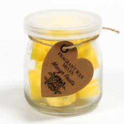6 Botes 16 ceras de soja - aroma mango