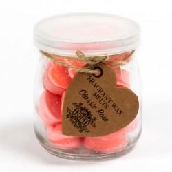 6 Botes 16 ceras de soja - aroma rosa