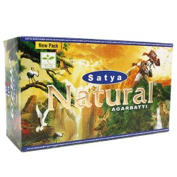 600 paquetes Incienso Nag Champa Natural 15g (Carton)