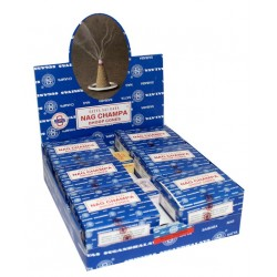 12 packs Conos de Incienso Nag Champa