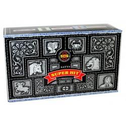 600 paquetes Nag Champa 15gm - SuperHit (Carton)