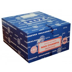 12 packs Incienso Nag Champa Satya Dhoop Sticks