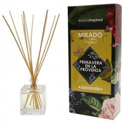 Mikado varillas aroma lavanda 100 ml.