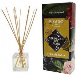 Mikado varillas aroma flor de loto 100 ml.