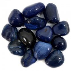 Piedras naturales irregulares - ágata azul 200gr.