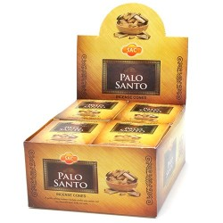 12 pack Conos incienso Sac - Palo Santo
