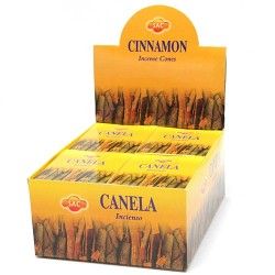 12 pack Conos incienso Sac - canela