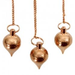 Péndulos especiales - metal cobre