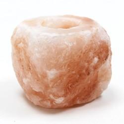 2 Soportes de vela sal natural 700-1000 gr.