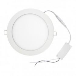 Downlight ultrafino 18W Ø205 mm 1600lm luz neutra 4000k
