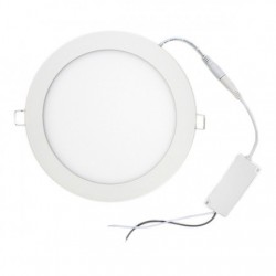 Downlight ultrafino 18W Ø205 mm 1600lm luz calida 3000k