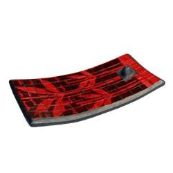 Set 3 soportes Incienso - palmera roja