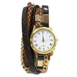 Reloj brazalete - serpiente