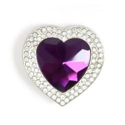 12 Cuelgabolsos corazón