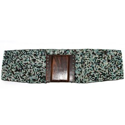 Cinturón multicolor - marino