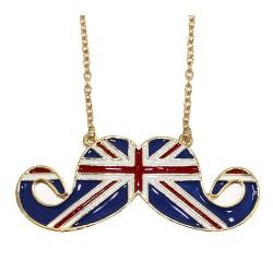 6 Colgantes bigotitos bandera Reino Unido