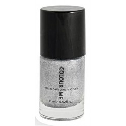 6 Lacas de uñas - Silver
