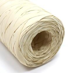 Rollo rafia sintética blanco 200m