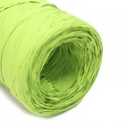 Rollo rafia sintética verde 200m