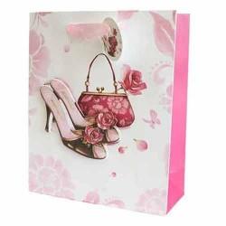 12 Bolsas de regalo lujo - 12 Bolso y tacones
