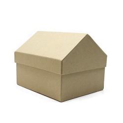 Set 3 cajas kraft casa