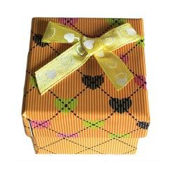 24 Cajas para anillo - Corazones surtidas