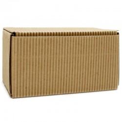 25 Cajas cartón rectangular