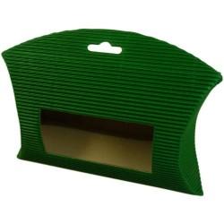 25 Bolsas acanaladas ventana - Verde
