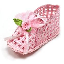 12 Botitas rosa