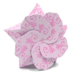 50 Cajitas Lily - rosa