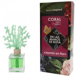 Mikado coral aroma jazmín en flor 100 ml.
