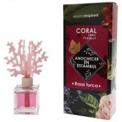 Mikado coral aroma rosa turca 100 ml.