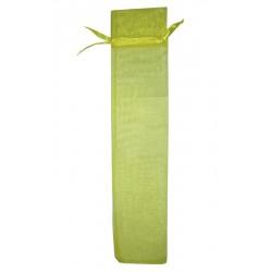 20 Bolsas organza incienso 7.5x35 - amarillo