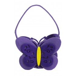 10 Bolsas fieltro - mariposa