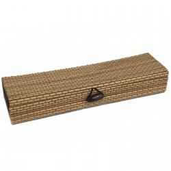 10 Cajas cuadrada natural 21.5cm