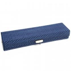 10 Cajas cuadrada azul 21.5cm