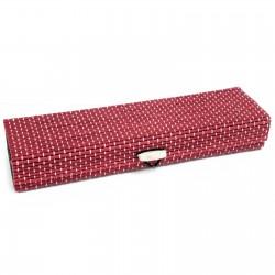 10 Cajas cuadrada rosa 21.5cm